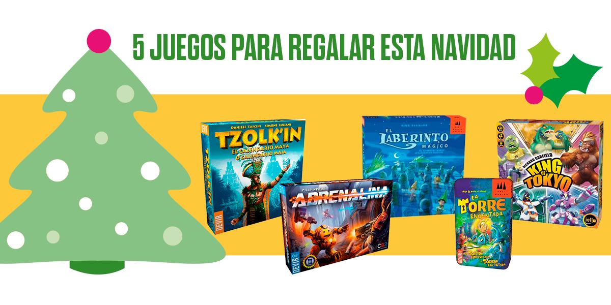 5 Juegos Para Regalar Esta Navidad Devir Mexico
